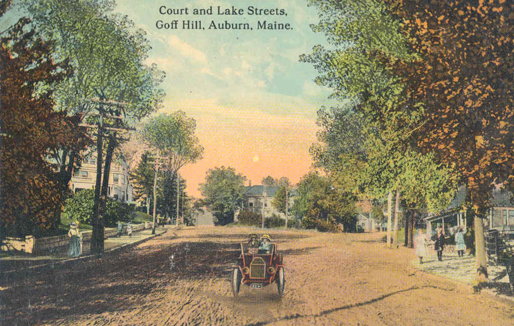 Court and Lake Streets, Goff Hill, Auburn, ME