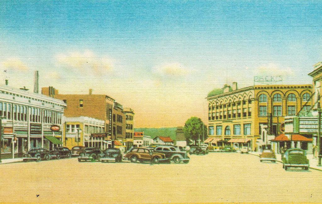 View of Main St., Lewiston, ME