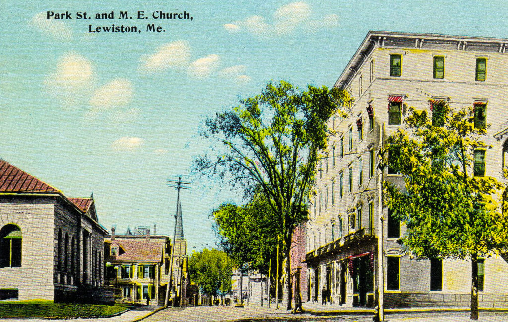 Park St., M. E. Church, Lewiston, ME
