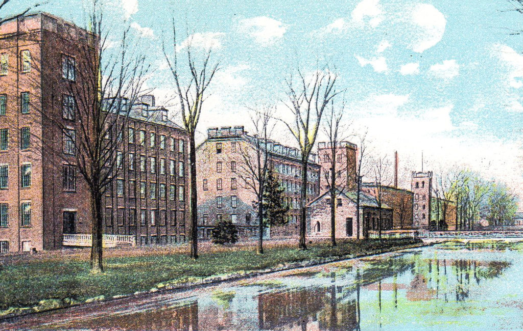 Hill and Bates Mills, Lewiston, ME