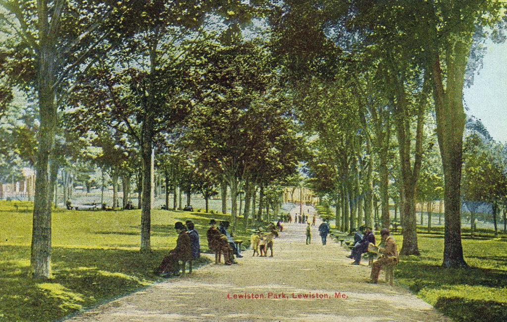 Lewiston Park, Auburn, ME #1