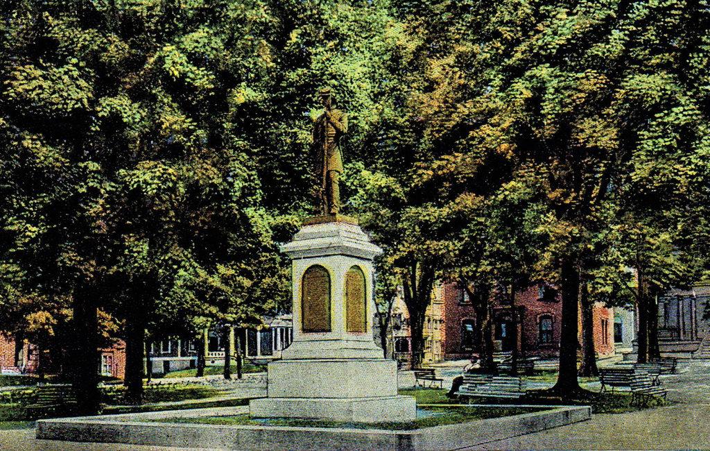 Soldiers' Monument, Lewiston, ME
