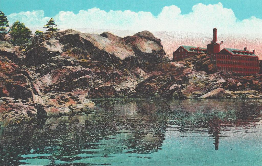 The Falls, Auburn and Lewiston, ME