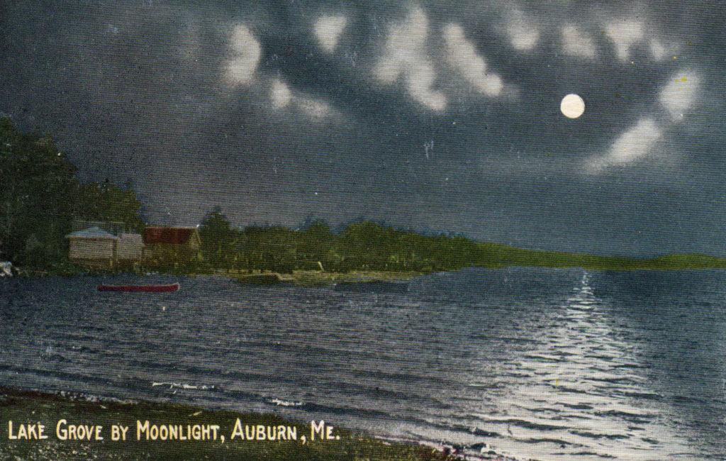 Lake Grove by Moonlight, Auburn, ME