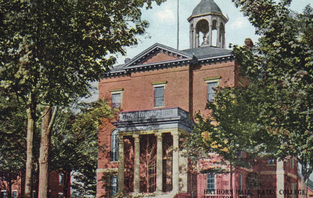 Hathorn Hall, Bates C., Lewiston, ME