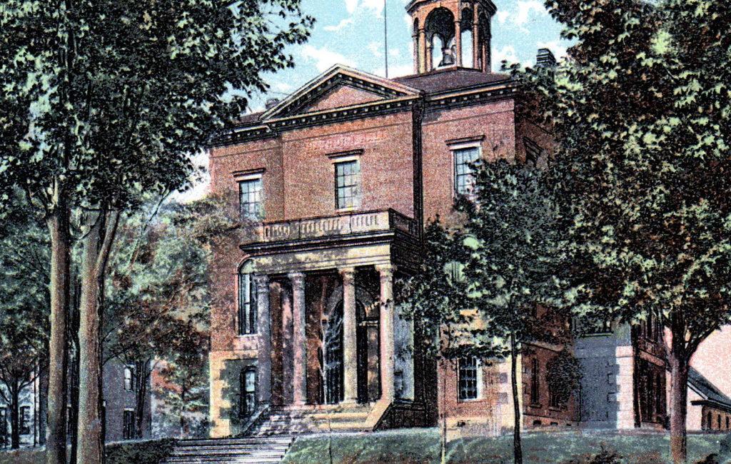 Hathorn Hall, Bates C., Lewiston, ME #3