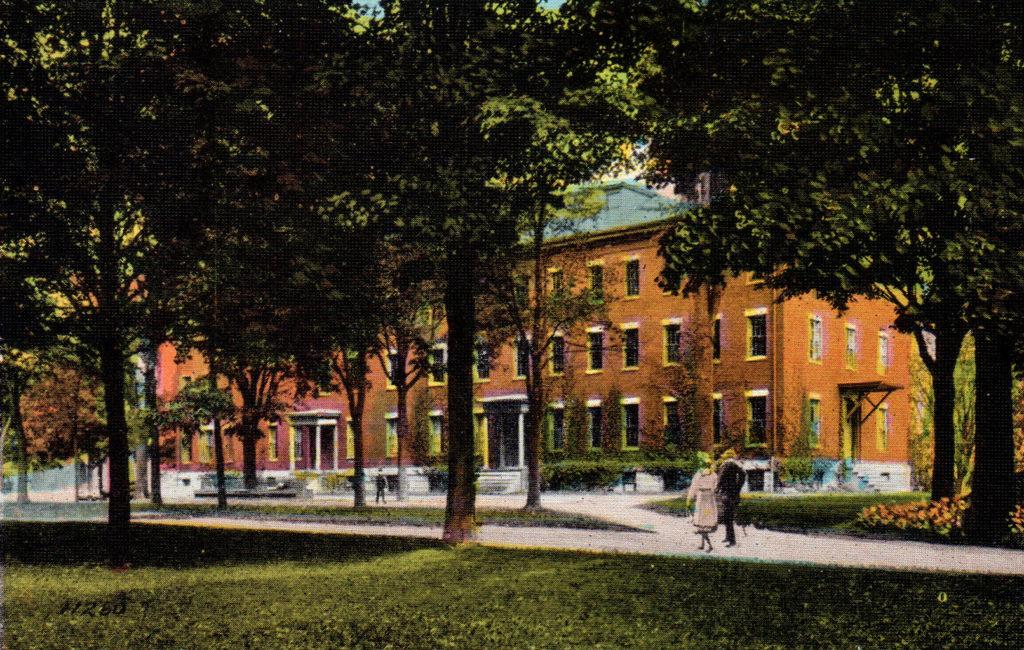 Parker Hall, Bates C., Lewiston, ME