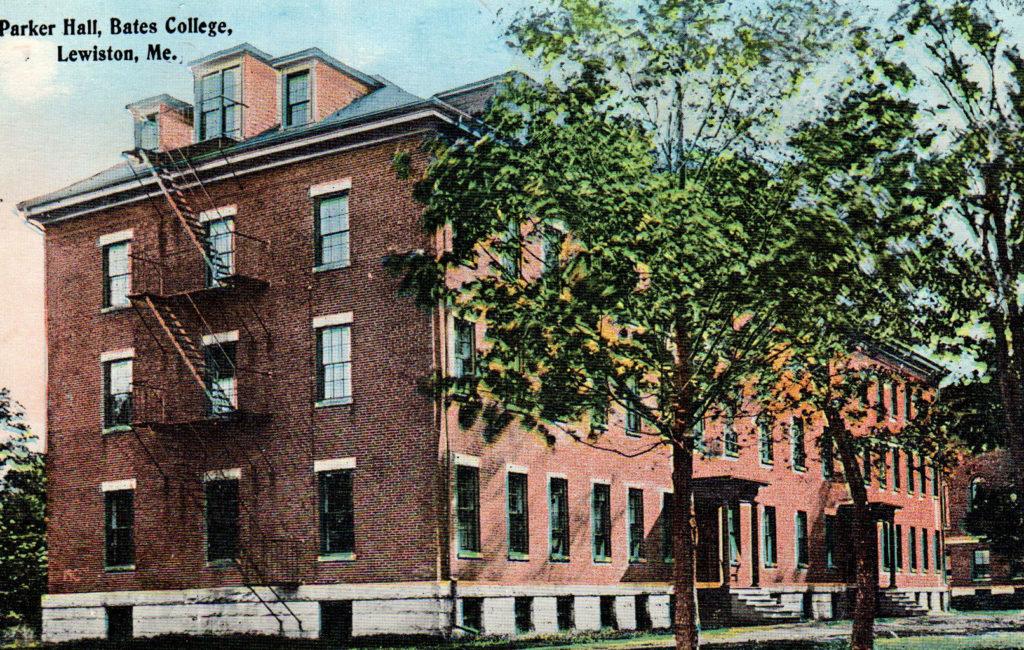 Parker Hall, Bates C., Lewiston, ME #2