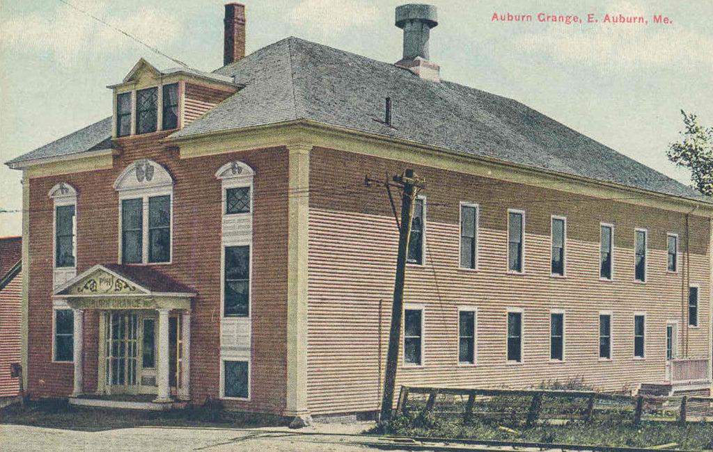 Auburn Grange, East Auburn, ME