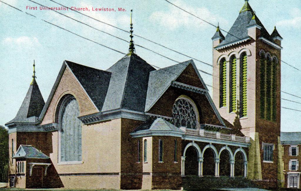 First Universalist Church, Lewiston, ME