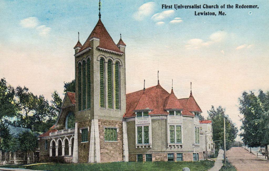 First Universalist Church of the Redeemer, Lewiston, ME