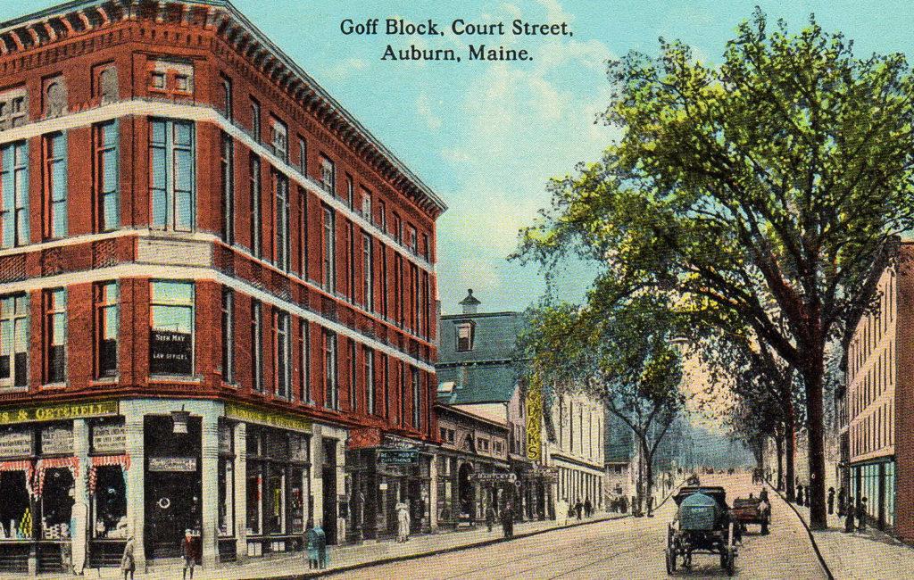 Court St., Goff Block, Auburn, ME #2